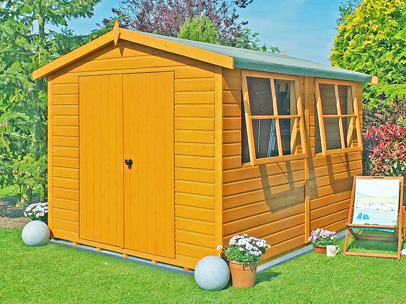 Shire 10x8 Bison Super Shed
