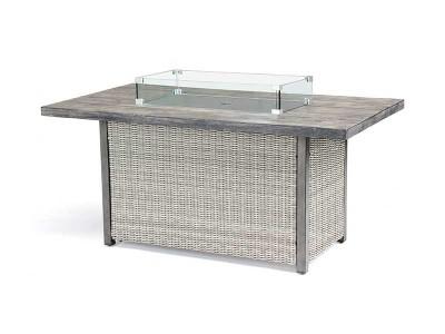 Kettler Palma Sofa Set with Table in Whitewash