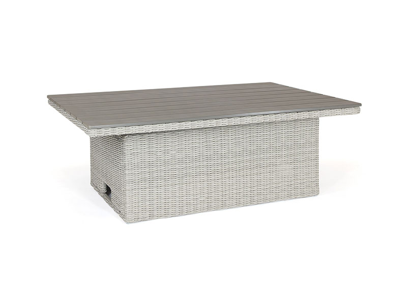 Kettler Palma Sofa Set with Table - Whitewash