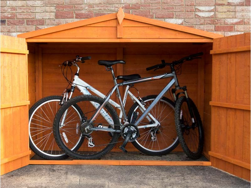 Shire Apex Shiplap Bike Store (No Floor)