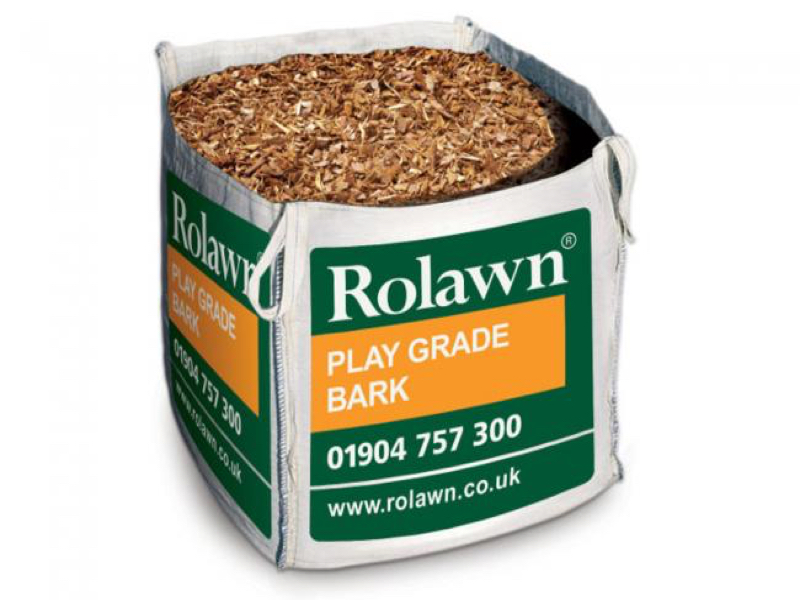 Rolawn Play Grade Bark Bulk Bag