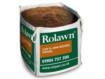 Rolawn Turf & Lawn Seeding Topsoil Bulk Bag