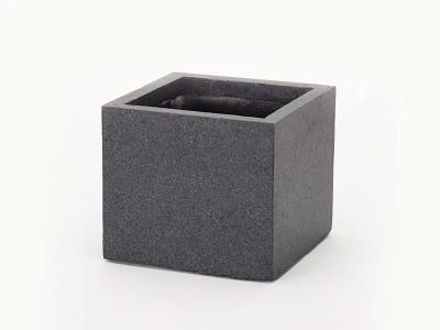 Apta Granito Cube Pot