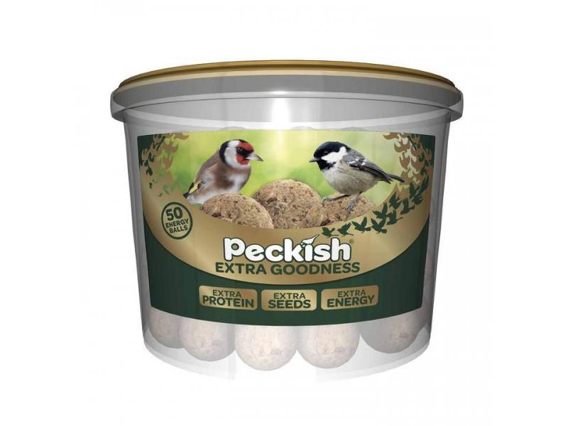Peckish Extra Goodness Balls - 50 Tub