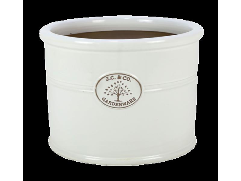 Apta J.C & Co Glazed Cylinder - White