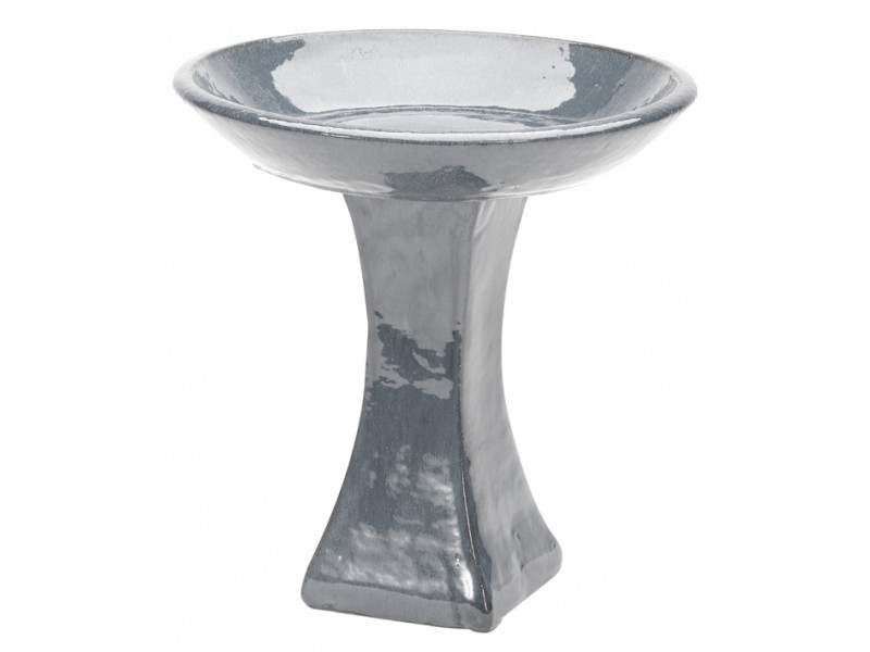 Apta Glazed Bird Bath
