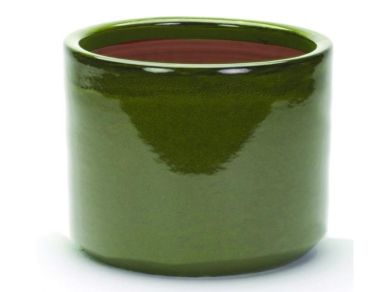 Apta Cambridge Glazed Cylinder Pot