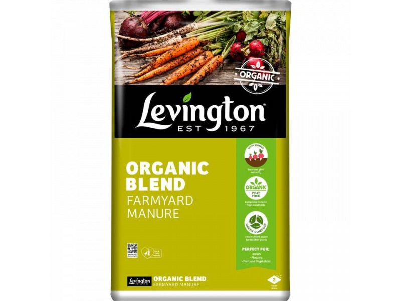 Levington Organic Blend Farmyard Manure