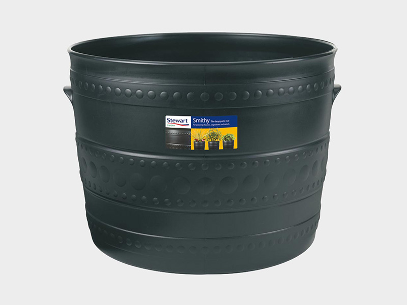 Stewart Smithy Patio Tub Double Pack (2 x 50cm)