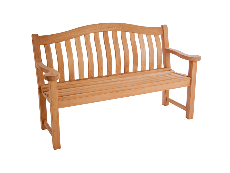 Alexander Rose Mahogany Turnberry Bench - 5ft
