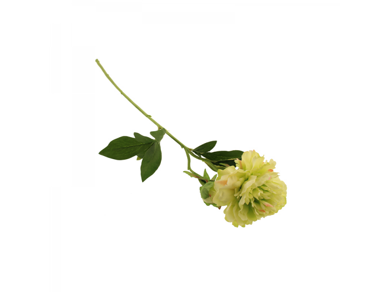 66cm Peony - Green