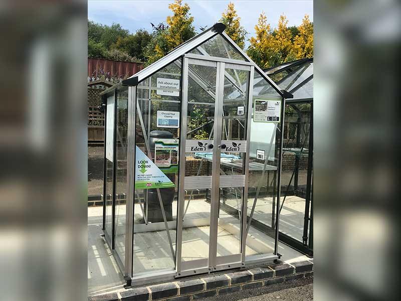 Eden Birdlip Greenhouse 4x4