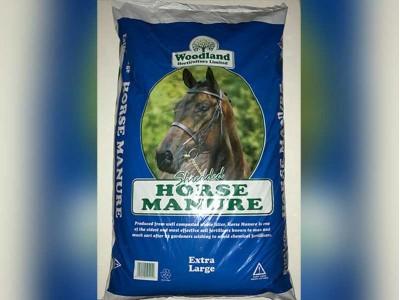 Woodland Shredded Horse Manure
