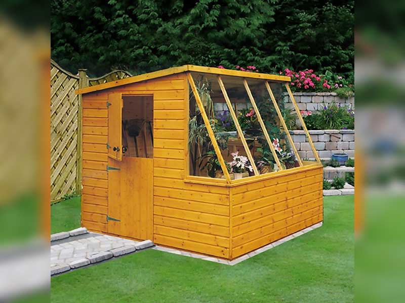 Shire 8x6 Iceni Potting Shed
