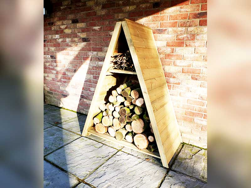 Shire Large Triangular Log Store
