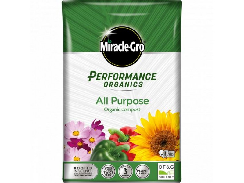 Miracle-Gro Performance Organics All Purpose Compost