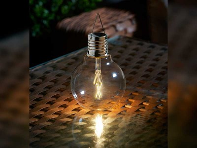 Smart Garden Eureka Vintage Solar Powered Light Bulb