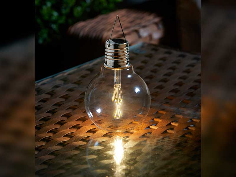 Smart Garden Eureka Vintage Solar Powered Light Bulb