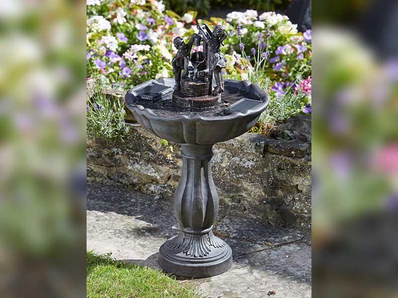 Smart Garden Solar Tipping Pail Fountain