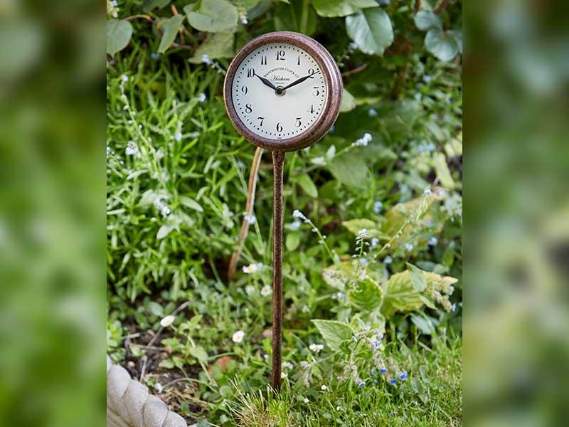 Hexham Border Stake Clock