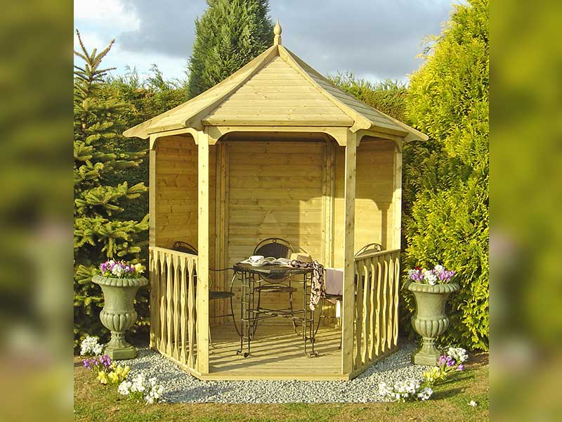 Shire 7x6 Pressure Treated Arbour