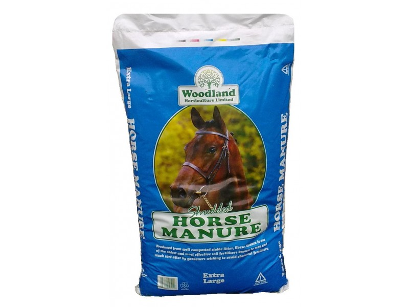 Woodland Shredded Horse Manure