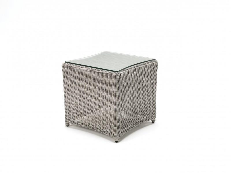 Kettler Palma Side Table - Whitewash
