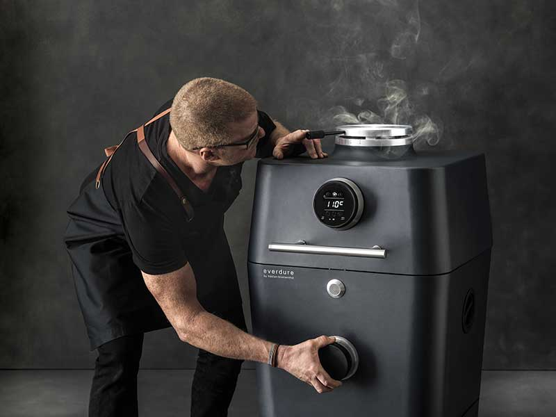 Everdure by Heston Blumenthal – 4K Outdoor Cooker with Cover (Pre-Order)