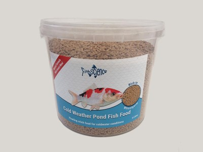 Fish Science Cold Weather Pond Food
