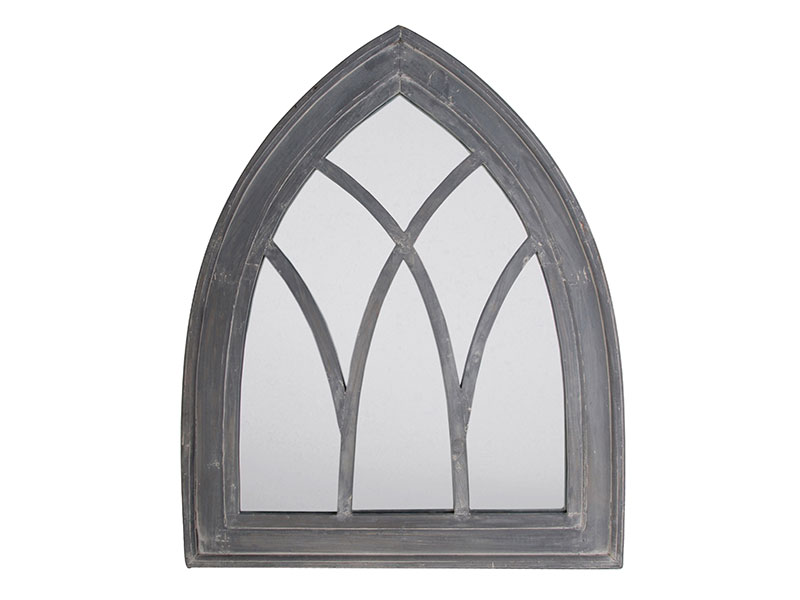 Fallen Fruits Gothic Mirror - Grey Wash
