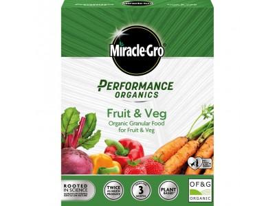 Miracle-Gro Performance Organics Fruit & Veg Concentrated Granular Plant Food