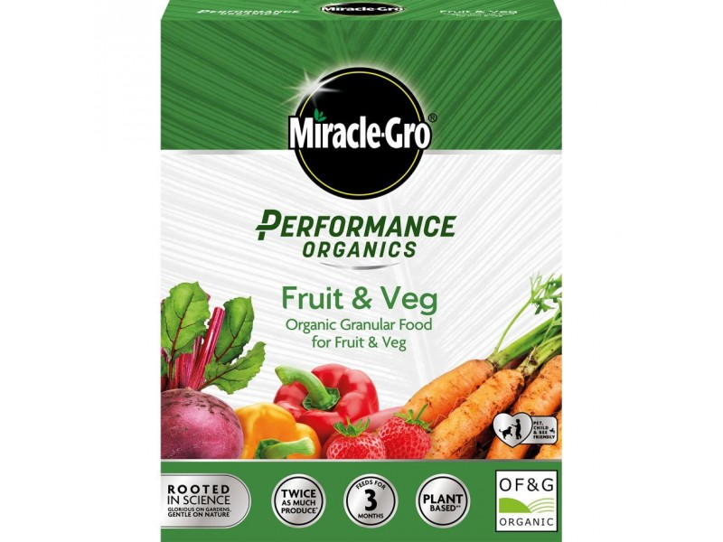 Miracle-Gro Performance Organics Fruit & Veg Concentrated Granular Plant Food