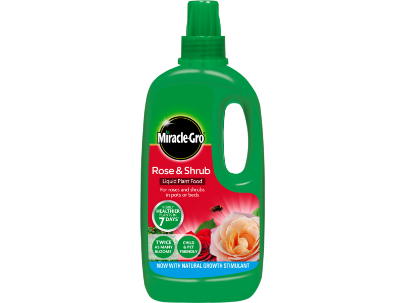 Miracle-Gro Rose and Shrub Liquid Plant Food