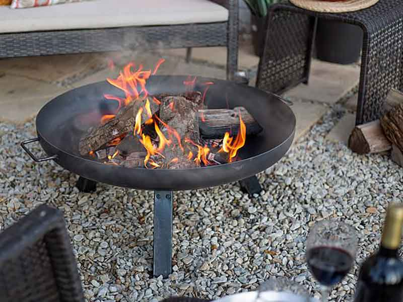 La Hacienda Pittsburgh Large Fire Pit