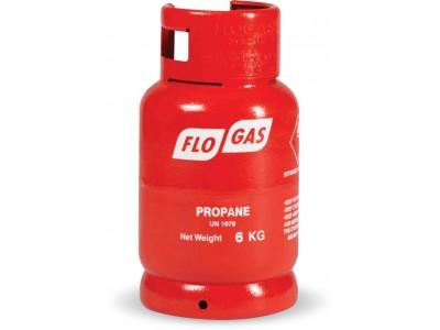 Flogas Propane Gas Cylinder - 6kg