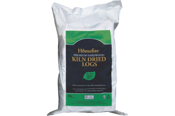 Homefire Kiln Dried Hardwood Logs Large Bag