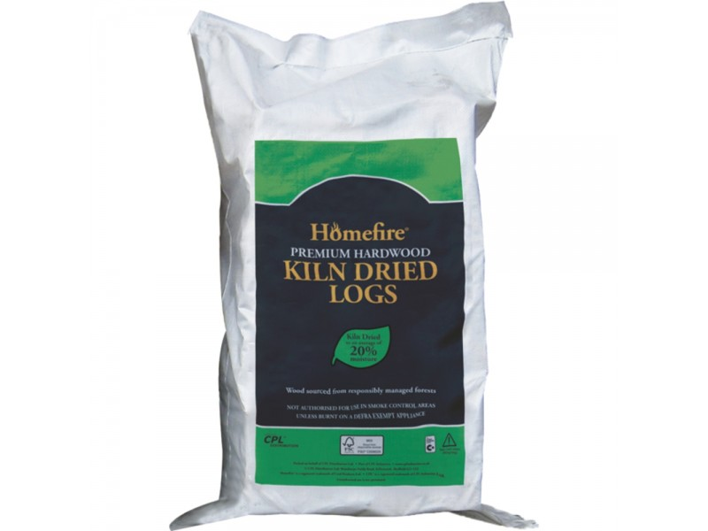 Homefire Kiln Dried Hardwood Logs - 60L