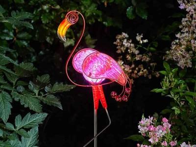 Smart Garden Flamingo Décor Stake Light