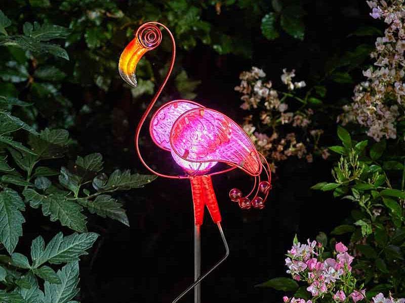 Smart Garden Flamingo Décor Stake Light