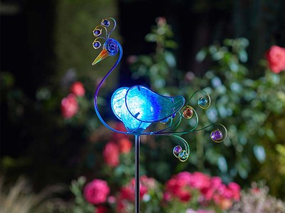 Smart Garden Peacock Décor Stake Light