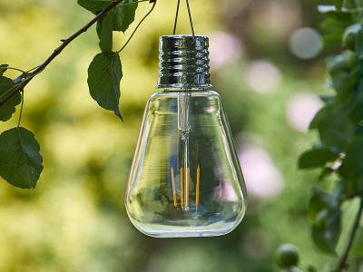 Smart Garden Eureka Edison Solar Powered Light Bulb