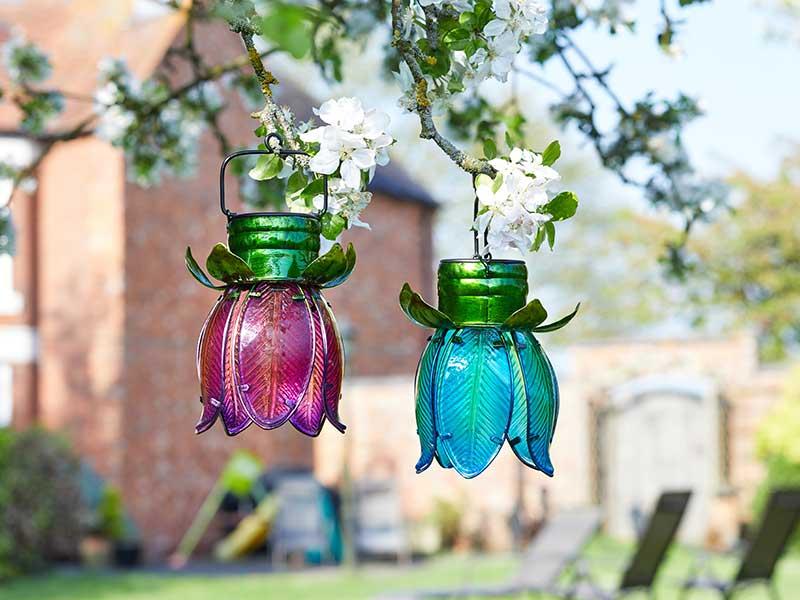 Smart Garden Solar Tulip Pendant