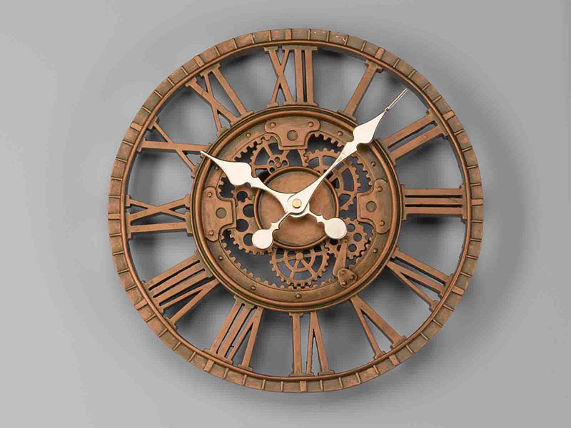 Newby Mechanical Wall Clock