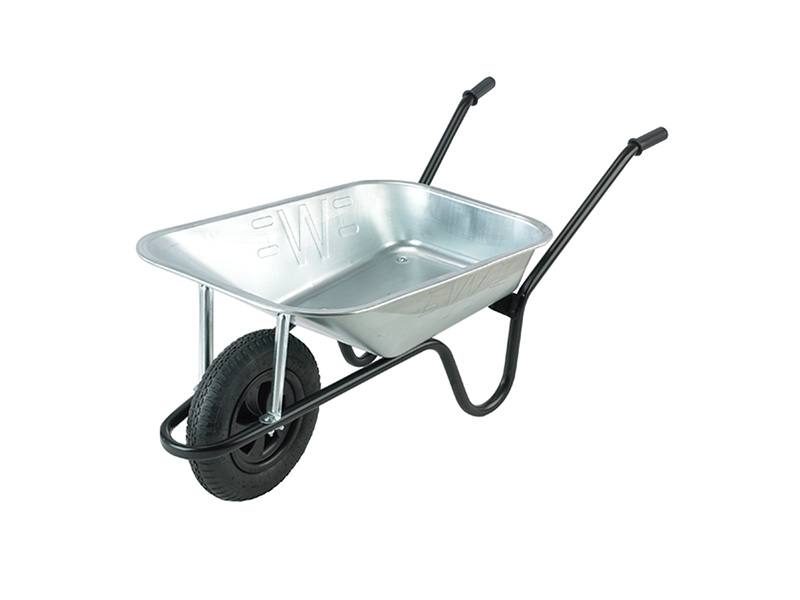 Contractor Galvanised Wheelbarrow 85L