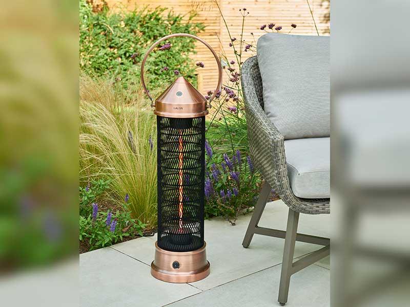 Kalos Copper Lantern Patio Heater