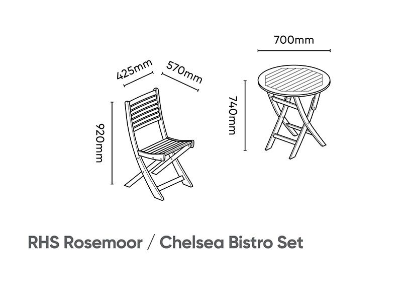 Kettler RHS Chelsea Bistro Set