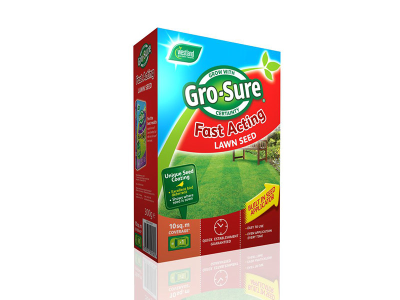 Gro-Sure Fast Acting Lawn Seed