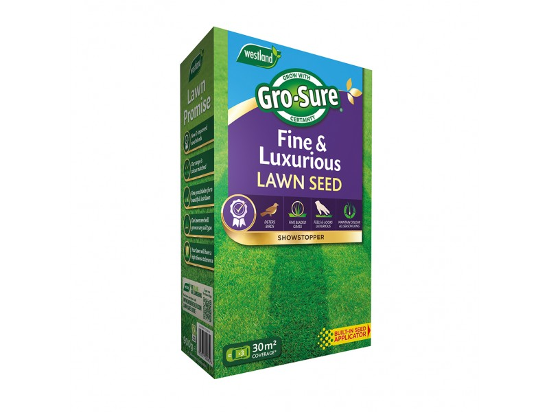 Gro-Sure Fine and Luxurious Lawn Seed