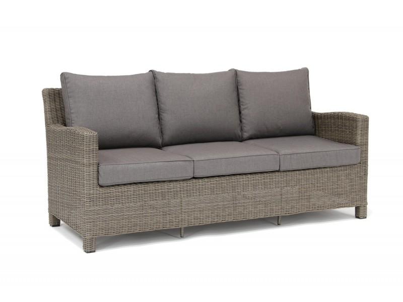 Kettler Palma 3 Seat Sofa - Rattan