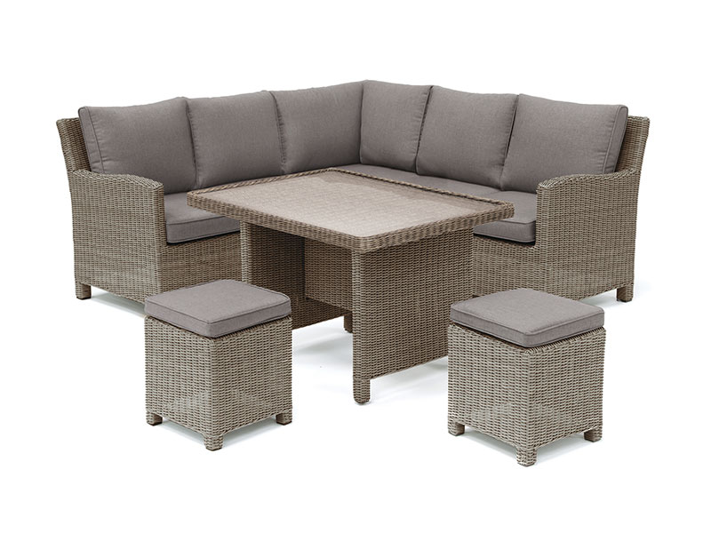 Kettler Palma Mini Set with Table - Rattan